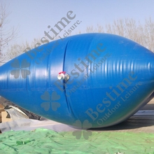 collapsible pillow water tank for water storage
