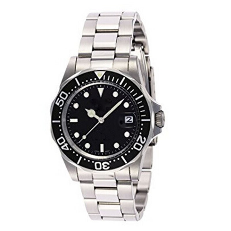 5atm waterproof classic mechanical watch with rolexable style