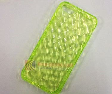 Soft silicone mobile phone case for iphone5, soft silicon case