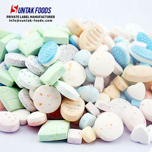 Bulk breath fresh mints customize shape mints