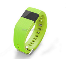 TW64 Bluetooth Wristband Pedometer Wrist Band Smart Bracelet Watch For Android Phone IOS
