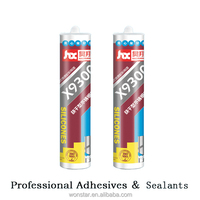 new adhesive silicone cartridge sealant for window
