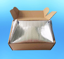 Reflective Insulation Available Frozen Food Shipping Box Liner