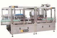 glass bottle white spirit washing filling and capping machine used for whiskey, brandy and vodka