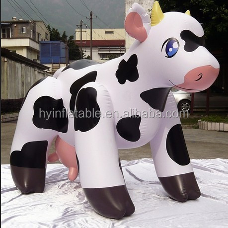 2015 new advertising inflatable cow, giant inflatable cow, inflatable milk cow