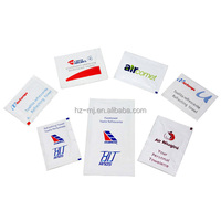 Adults Age Group and Spunlace Material Single Wet Tissue Airline Wet Wipe