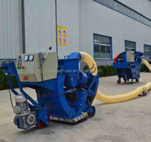 Airfield runway surface friction strengthen shot blasting machine
