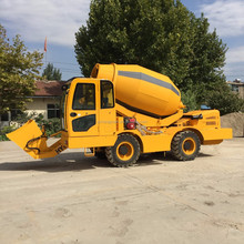 new self loading mobile concrete mixer truck factory price ,cement mixer