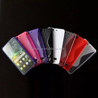 Hot! New! S line design gel cover cell phone case for huawei honor 4c china price