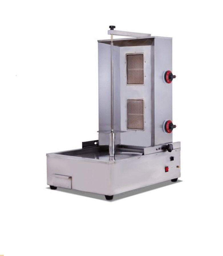gas oven meat bakery machine/ shawarma machine/kebab machine(2-burner)