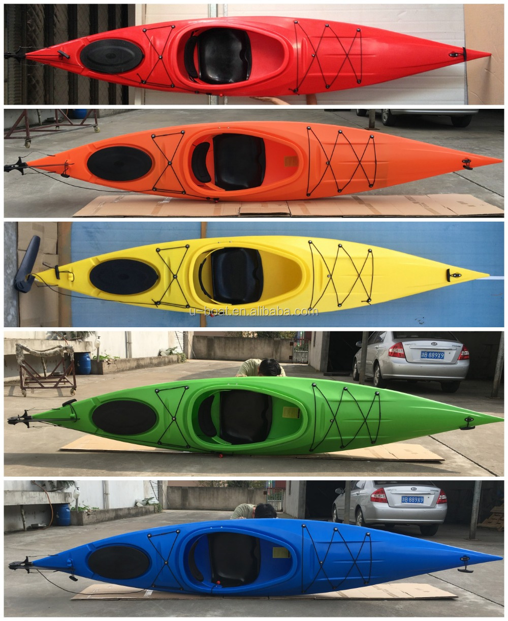 single touring kayak/canoe with pedals