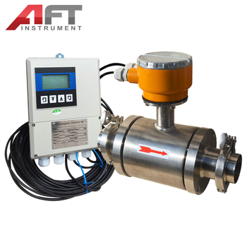 tri clamp type sanitary electromagnetic flow meter