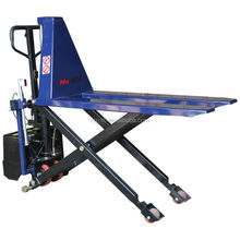 Electric High Lift Scissor Truck with Automatic Height Adjustment