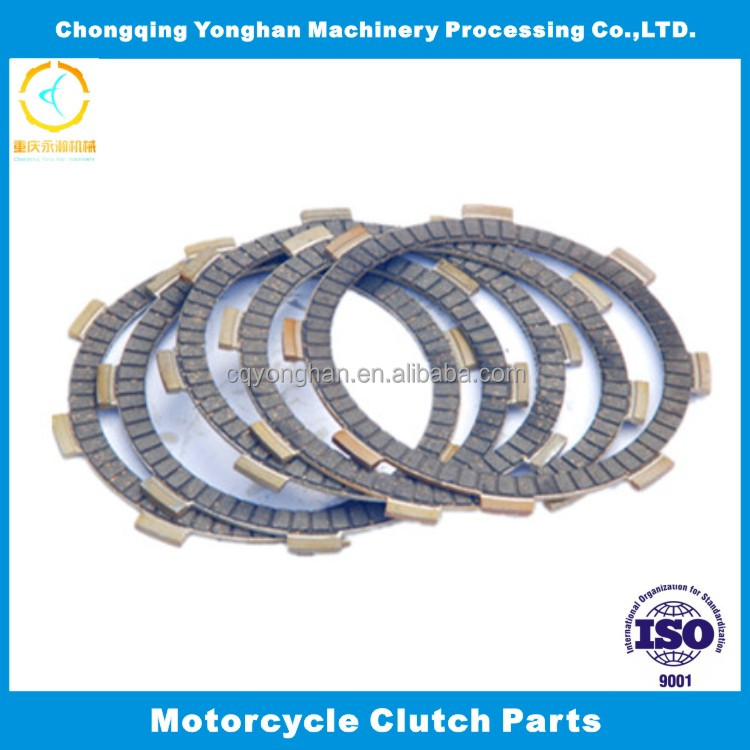 Motorcycle parts inner friction material clutch disc plate for YD100