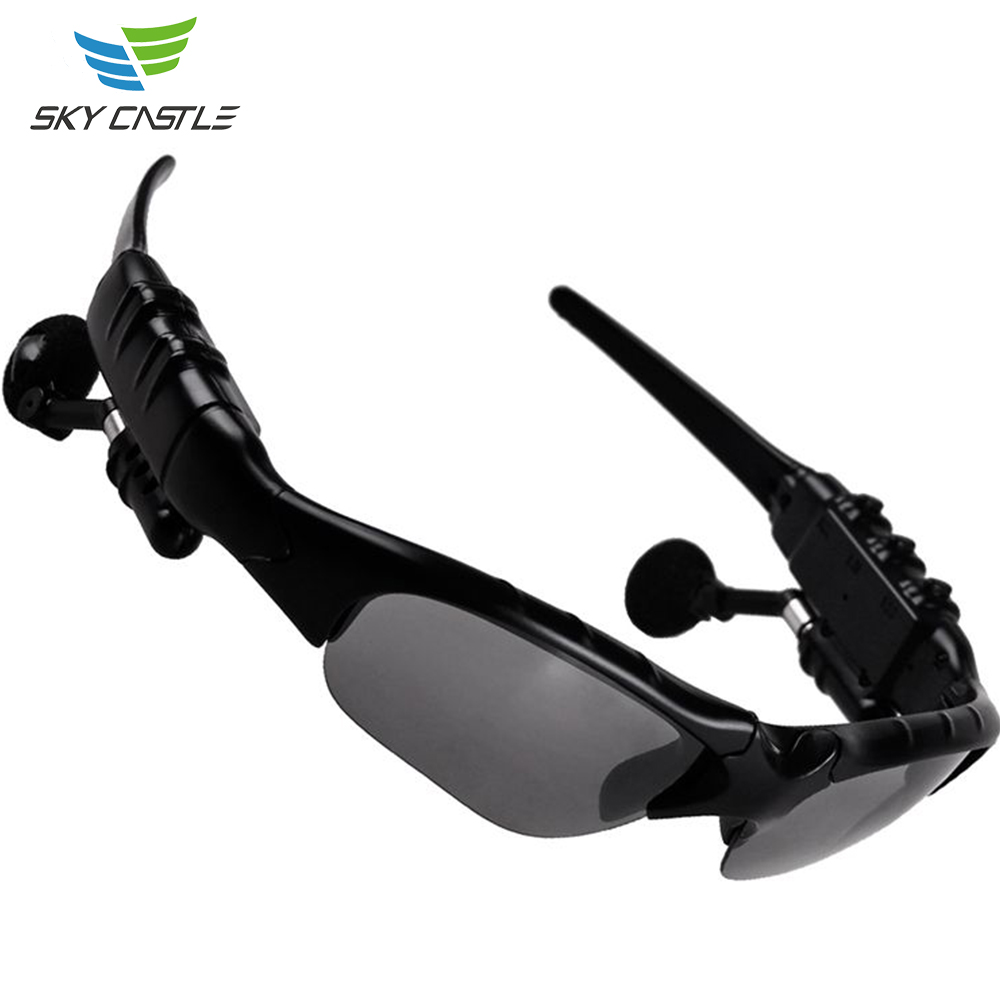Guangdong Shenzhen manufacturers wholesale sport wireless bone conduction bluetooth headset sunglass mp3 with video camera