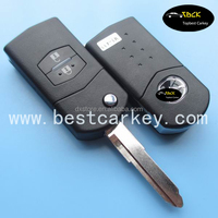 Hot products to sell online 2 button remote control car 433Mhz with 4D63 chip(40bit)Maz24R blade mazda 6 remote key