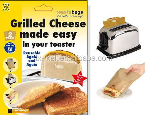 Toastabags Twin Pack - Grilled Sandwich in Your Toaster - Reusable 50 Times