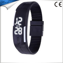 13Color Fashion Men Candy Silicone Strap Touch Womens Rubber White LED Watch Sports Bracelet Digital Wrist Watches relojes LMW-6