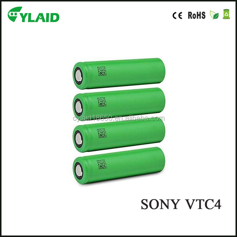 Best price for SONY VTC4 2100mAh 3.7V 18650 li ion rechargeable Battery OEM only