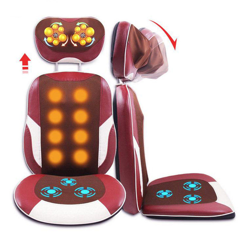 Vertebra Electric Massage Pad Multifunctional Waist Neck Cushion Health Care Relaxation Massage Chair MT100885