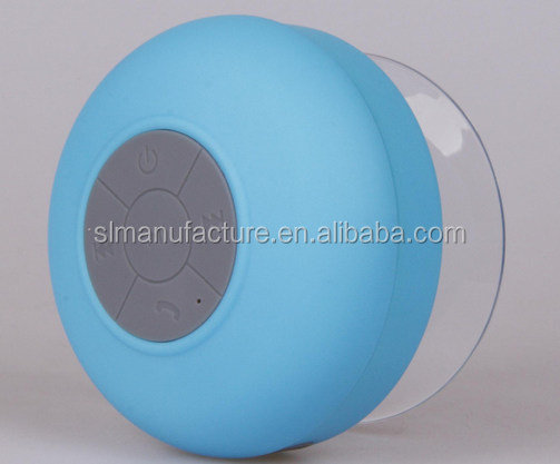 Factory price with good quality outdoor speaker covers waterproof mini waterproof bluetooth speaker suction cup