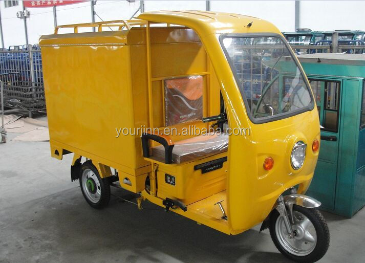 cargo tricycle with cabin /auto rickshaw price/ cargo bike