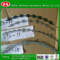 hot sale highqulity cheap bto-22, bto-10,cbt-65 razor barbed wire
