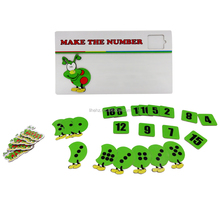 Clever Caterpillar Number Study Set Infant Toy Educational Games for Kindergarten Gift for Kids
