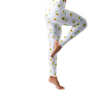 New design china yoga spring elastic tight pattern leggings for women