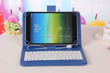 "Manufacturer Cheap PU Tablet Keyboard Case for 7-10"" tablet"