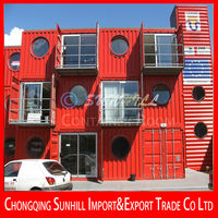Multi-layer Container House with Best Heat Insulation Performance