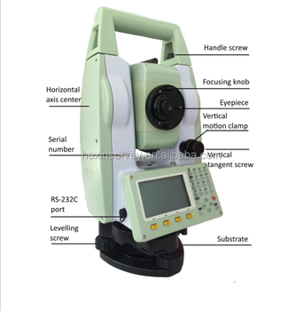2017 hot sale Magnification 30X types of total station Sunway ATS420R