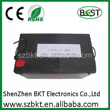 lithium battery 12v 120ah lithium ion phosphate battery 12v 200ah