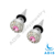 2017 fashion stainless steel fake ear tapers piercing jewelry with gems