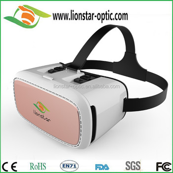 Wholesale latest VR Virtual Reality Box Google Cardboard Virtual reality headset 3D Glasses