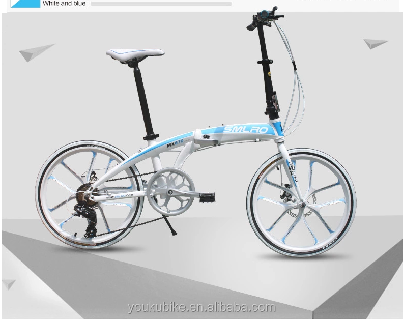 Made in China 6 speed aluminum 20 inch folding bike