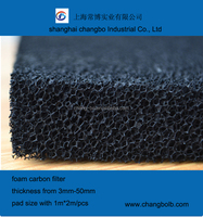 polyurethane air filter foam manufacturer with ISO9001