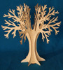 Decorative little tree wooden with stand hang decorations or jewellery