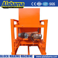 conveninet to operate and maintain high stability hydraulic control system manual work brick making machine