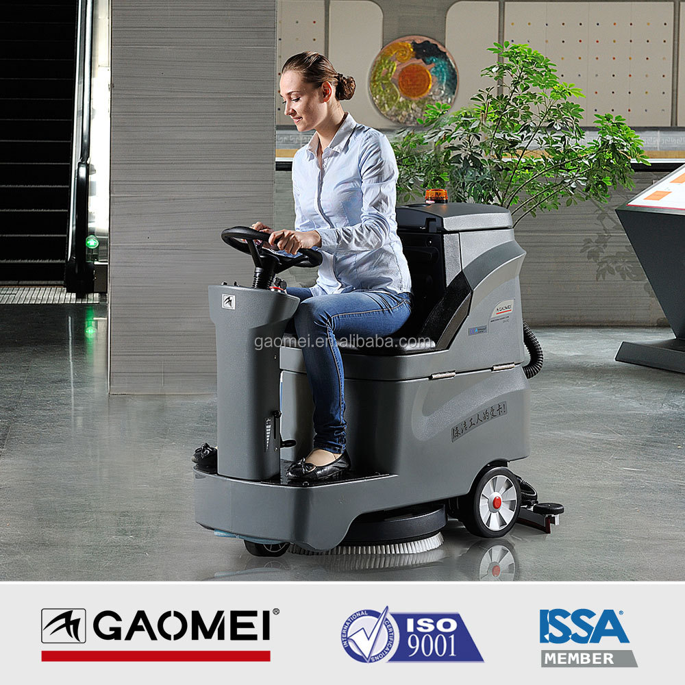 GM-AC Auto battery flexible Industrial floor Scrubber for rentals