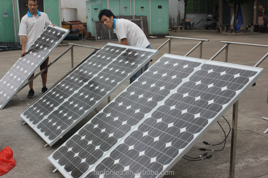30KW solar panel system ,solar electric system,solar power system connect with the grid/1000w solar home system with inverter,