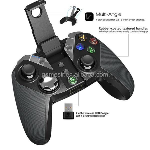 Original for PS3 usb gamepad for PC 2.4GHz wireless Android moilbe phone bluetooth game controller