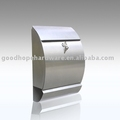 GH-1312 wall mounted stainless steel mailbox