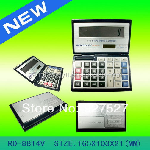 Full Functional 14 Digit Foldable Scientific Calculator Models