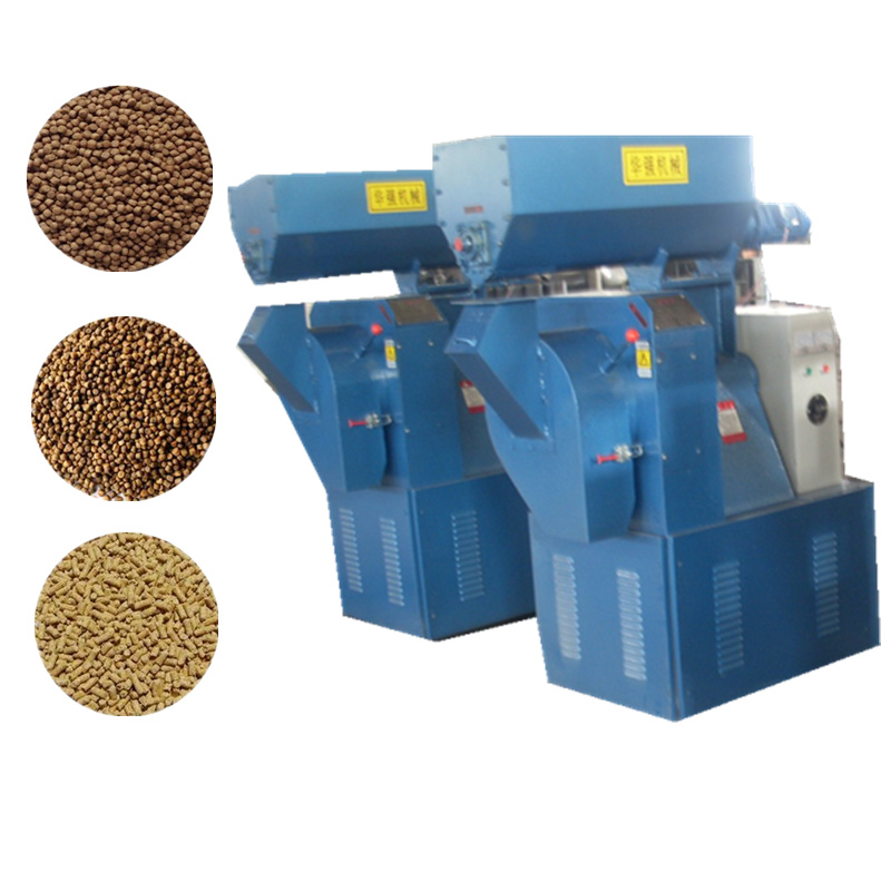 Small Simple Animal Feed Pellet Production Line