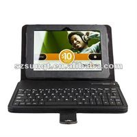 Hot new bluetooth keyboard leather case for kindle fire hd 7 tablet