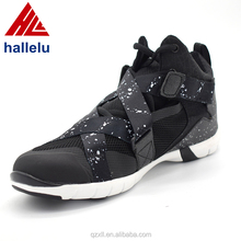 Factory wholesale custom sneaker high neck action sport shoes for men