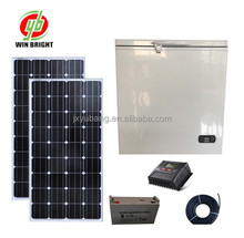 Manufacturer 150L 12V Chest deep Solar Freezer refrigerator Icebox cooler 12VDC 100% Powered by Solar