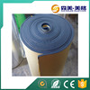 Black nbr closed cell rubber foam tape for hot or cold piping and fittings