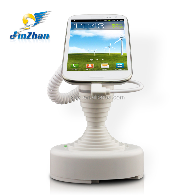 ABS Dummy mobile phone display stand with alarm and charging